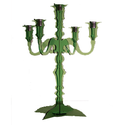 I HEART LUXE - daily women's shopping magazine » Blog Archive » Green Acrylic Candelabra