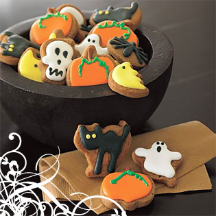 EL HILO DE LOS AMIGUETES XII Halloween-cookies