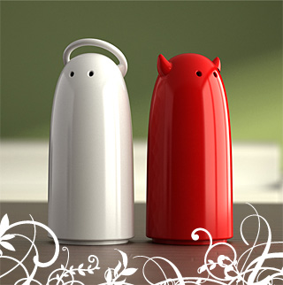 Koziol - Salt & Pepper Shakers