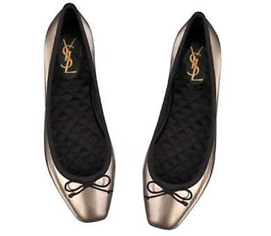 and satin quilted insoles. We'll miss you YSL. Tagsflats