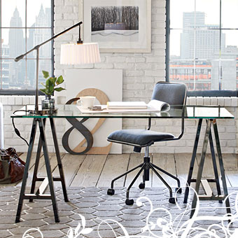 West Elm - Sawhorse Worktable