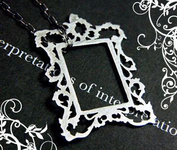 Simone Walsh - Picture Frame Pendant