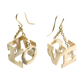 janet fraile love earrings - Earings....