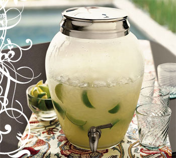 Pottery Barn - Glass Drink Dispenser