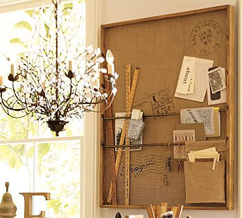 Pottery Barn - Rustic Wall Organizer