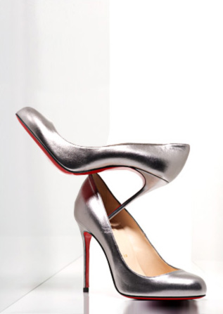 Christian Louboutin - Metallic Pumps